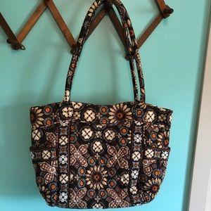 Vera Bradley Canyon Retired Tote Bag